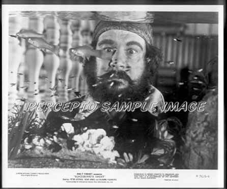 BLACKBEARD'S GHOST ~ '76 DISNEY Movie Photo ~ Fishtank  PETER USTINOV