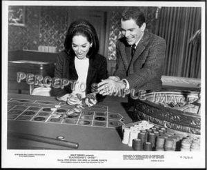 BLACKBEARD'S GHOST ~ '76 Roulette Gambling Movie Photo ~ SUZANNE PLESHETTE / DEAN JONES
