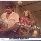 BREAKOUT ~ Ex-Cond '75 Movie Photo ~ Coors Beer & CHARLES BRONSON