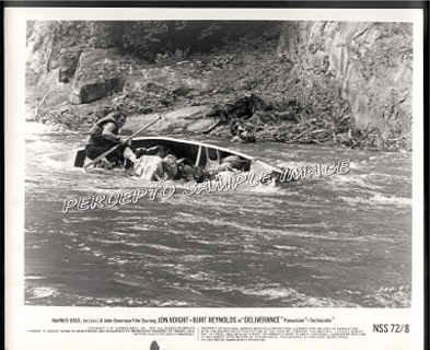 DELIVERANCE  '72 Canoe Movie Photo!  Ned BEATTY / Burt REYNOLDS
