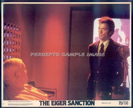The EIGER SANCTION  ~ Orig '75 Color Movie Photo ~ CLINT EASTWOOD