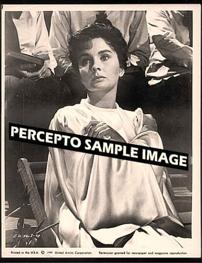 ELMER GANTRY ~ Orig '60 Movie Photo ~  Close Up JEAN SIMMONS