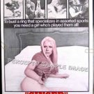 GINGER ~ '71 1-Sheet Movie Poster - Soft Core Sex Classic / CHERI CAFFARO / CINDY BARNETT