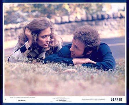 GAMBLER ~ Color '74 Movie Photo ~ JAMES CAAN / LAUREN HUTTON