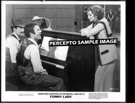 FUNNY LADY  ~ Orig '71 Movie Photo ~  Barbra STREISAND / James CAAN