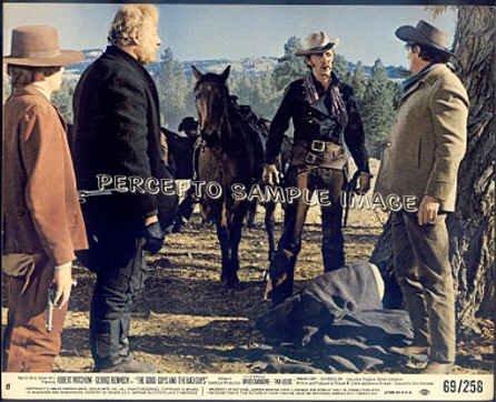GOOD GUYS & THE BAD GUYS ~ '69 Western Movie Photo ~  George KENNEDY / Robert MITCHUM