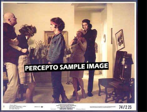 DEATH WISH ~  '74 Cult-Action Movie Photo ~  HOPE LANGE / JEFF GOLDBLUM