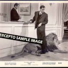 FLUFFY  ~ Original '65 Movie Photo ~  TONY RANDALL / FLUFFY THE LION