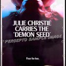 DEMON SEED ~ '77 Rare-Size 40x60 SciFi Movie Poster ~ JULIE CHRISTIE / FRITZ WEAVER