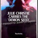 DEMON SEED ~ '77 Rare-Size 40x60 SciFi Movie Poster ~ JULIE CHRISTIE / FRITZ WEAVER