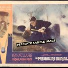 PREMATURE BURIAL ~  '62 AIP POE HORROR Movie Lobby Card ~  ROGER CORMAN / RAY MILLAND