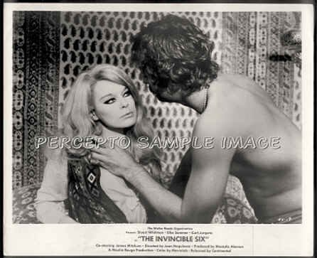 INVINCIBLE SIX  Rare Orig '70 Movie Photo!  ELKE SOMMER