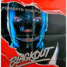 BLACKOUT - '87 S&M Leather Movie Poster! - KEITH CARRADINE / RICHARD WIDMARK