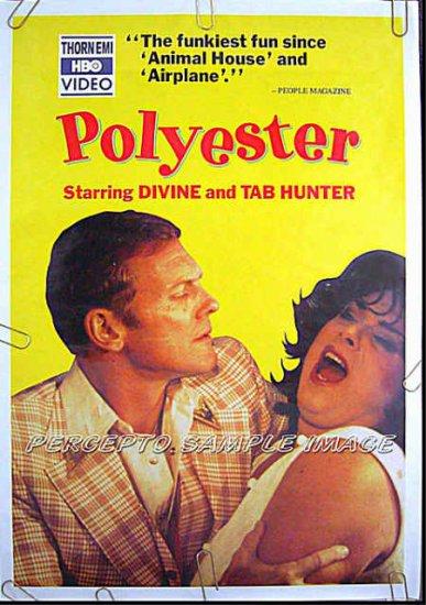 polyester orig 81 1sheet movie poster divine john