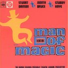 HOUDINI Man Of Magic ~ RARE 1966 London Cast Vinyl LP ~ STUART DAMON / JUDITH BRUCE / STUBBY KAYE
