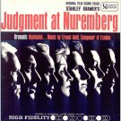JUDGMENT AT NUREMBERG ~ '61 STANLEY KRAMER / SPENCER TRACY Movie Soundtrack Vinyl LP ~ ERNEST GOLD
