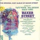 BAKER STREET ~ '65 SHERLOCK HOLMES Musical Broadway Cast Vinyl LP ~ Fritz WEAVER / Inga SWENSON