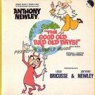 GOOD OLD BAD OLD DAYS ~ '92 Orig London CAST Vinyl LP ~ LESLIE BRICUSSE / ANTHONY NEWLEY