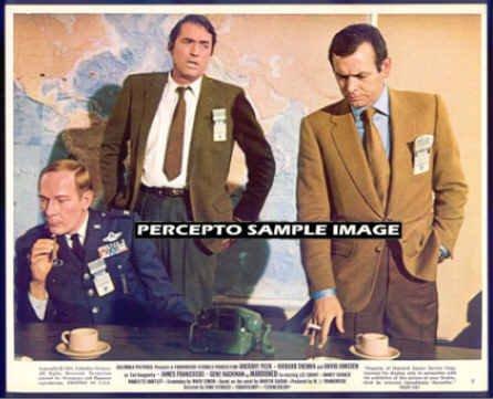 MAROONED - Orig '69 Sci-Fi Movie Photo - Gregory PECK / David JANSSEN