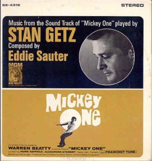 MICKEY ONE ~ '65 WARREN BEATTY Jazz Movie Soundtrack  Vinyl LP ~ STAN GETZ / EDDIE SAUTER