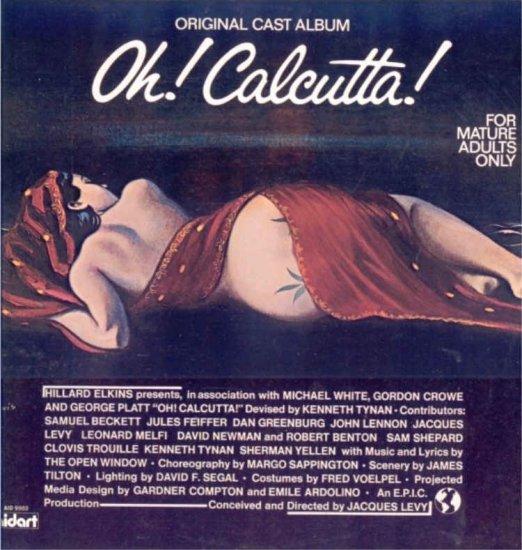 OH! CALCUTTA! ~ SEX MUSICAL ~ Rare 70s ORIGINAL NY CAST VINYL LP / PETER SCHICKELE