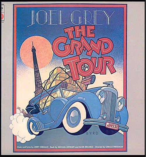 The GRAND TOUR ~ Orig 1979 Broadway Cast Vinyl LP ~ Joel GREY / Ron HOLGATE / Jerry HERMAN