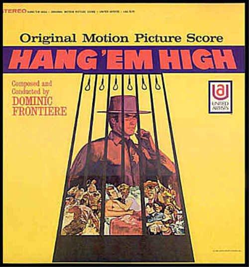 HANG EM HIGH ~ Nr-Mint OOP '68 Movie Soundtrack Vinyl LP ~ Dominic FRONTIERE