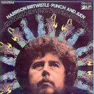 PUNCH AND JUDY ~ '80 OUT OF PRINT Vinyl 2 LP Opera Set ~ HARRISON BIRTWISTLE / LONDON SINFONETTA