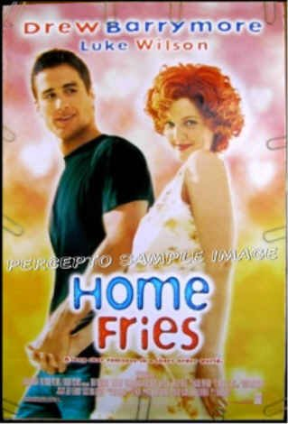 HOME FRIES ~ '98 1-Sheet Movie Poster ~ Luke WILSON / Drew BARRYMORE / Catherine O'HARA