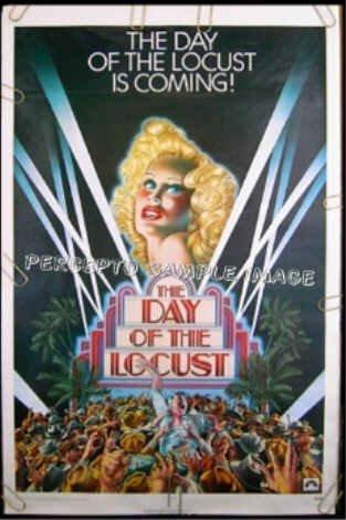 DAY OF THE LOCUST ~ '75 1-Sheet Movie Poster ~ KAREN BLACK / DONALD SUTHERLAND / DAVID BYRD Art