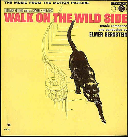 WALK ON THE WILD SIDE ~ '62 JANE FONDA Movie Soundtrack Vinyl LP ~ ELMER BERNSTEIN