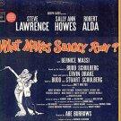 WHAT MAKES SAMMY RUN? ~ NEW OOP '64 Broadway Cast Vinyl LP ~ Steve LAWRENCE / Sally Ann HOWES