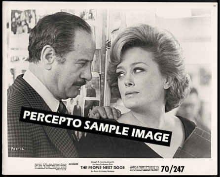 PEOPLE NEXT DOOR - Orig '70 Movie Photo - Golden Girls' RUE McCLANAHAN / ELI WALLACH