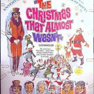 CHRISTMAS THAT ALMOST WASN'T ~ Rare-Size '72 40x60 Movie Poster ~ ROSSANO BRAZZI / SANTA CLAUS