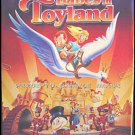 BABES IN TOYLAND - Ex-Cond '97 1-Sheet Movie Poster - MGM CHRISTMAS CARTOON ART