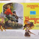 HUCKLEBERRY FINN ~ '74 Half-Sheet Musical Movie Poster ~ PAUL WINFIELD / HARVEY KORMAN