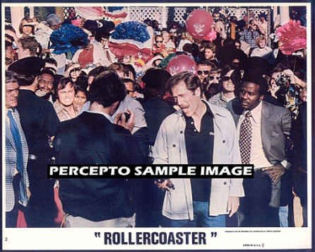 ROLLERCOASTER ~ Ex-Cond '77 Color Movie Photo ~ GEORGE SEGAL / TIMOTHY BOTTOMS