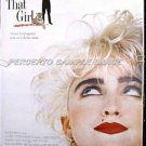 WHO'S THAT GIRL ~ Ex-Cond Rolled '87 1-Sheet Movie Poster ~ MADONNA / GRIFFIN DUNNE / JOHN MILLS