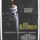 KINDRED ~ Orig '87 HORROR 1-Sheet Movie Poster ~ AMANDA PAYS / DAVID ALLEN BROOKS / KIM HUNTER