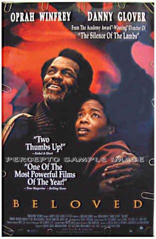 BELOVED - '91 1-Sheet Movie Poster - OPRAH WINFREY / DANNY GLOVER / THANDIE NEWTON