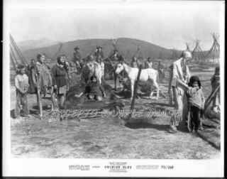 SOLDIER BLUE ~ Orig '70 Movie Photo ~ INDIAN VILLAGE / CANDICE BERGEN
