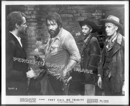THEY CALL ME TRINITY - Orig '71 Movie Photo - BUD SPENCER / TERENCE HILL