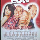 ED TV - '99 1-Sheet Movie Poster - MATTHEW McCONAUGHEY / JENNA ELFMAN / WOODY HARRELSON / LIZ HURLEY