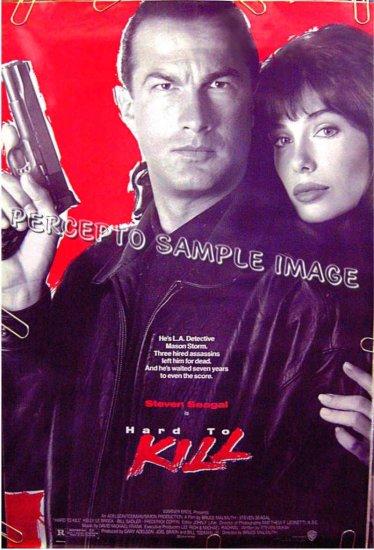 HARD TO KILL ~ 1-Sheet '90 Action Movie Poster ~ STEVEN SEAGAL / KELLY LE BROCK / BILL SADLER