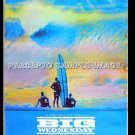 BIG WEDNESDAY - '85 SURFBOARD & BEACH Movie Poster - JAN MICHAEL VINCENT / GARY BUESY