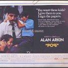 POPI ~ Rare-Size Rolled '69 Half-Sheet Movie Poster ~ ALAN ARKIN / RITA MORENO / RUBEN FIGUEROA