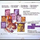 The MIDNIGHT MAN ~ '74 Half Sheet Movie Poster ~ BURT LANCASTER / SUSAN CLARK / CAMERON MITCHELL