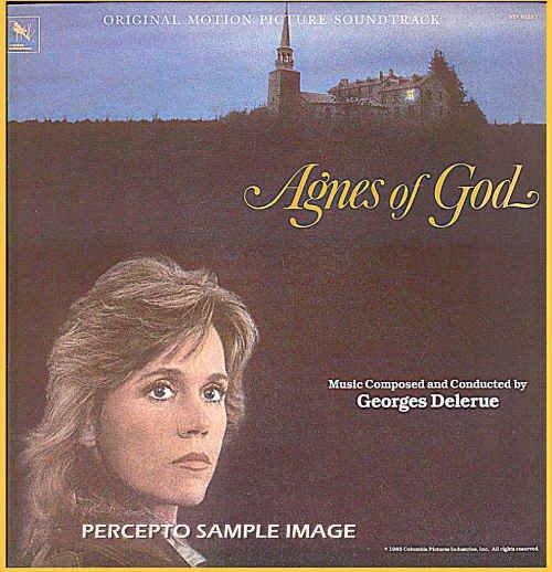 AGNES of GOD ~ Near Mint Out Of Print 80s Movie Soundtrack Vinyl LP! ~ Georges DELERUE