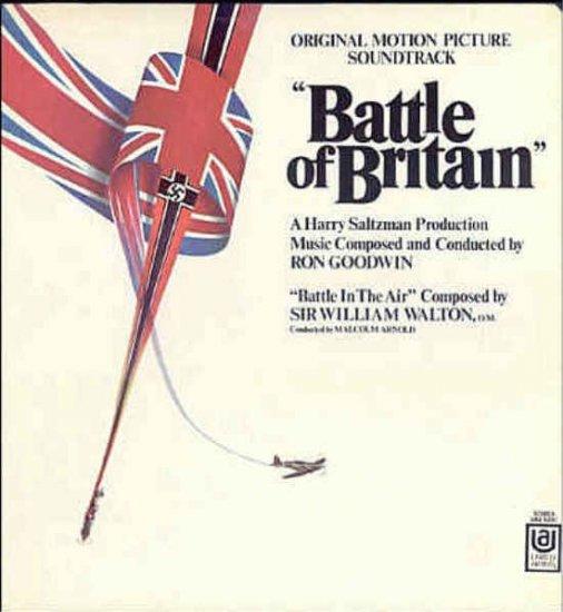 BATTLE OF BRITAIN ~ Orig '69 Movie Soundtrack Vinyl LP ~ RON GOODWIN