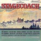STAGECOACH ~ Orig 1966 Movie Soundtrack Vinyl LP ~ JERRY GOLDSMITH / BILL BROWN SINGERS